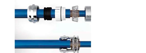Металлические кабельные вводы с экранированием, тип S, М удлиненный